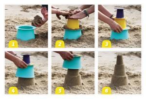 Как делать башенки формочкой quut alto