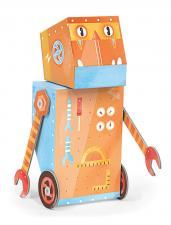Игрушечный робот строитель krooom