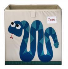 Коробка для игрушек 3sprouts змейка