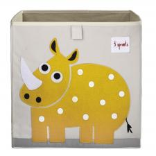 Коробка для игрушек 3sprouts носорог