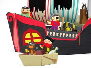 Фигурки из набора пиратский корабль купер