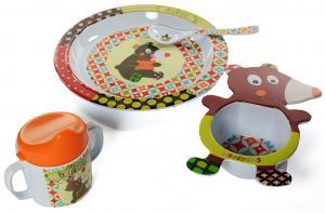 Посуда ebulobo мишка 4 предмета