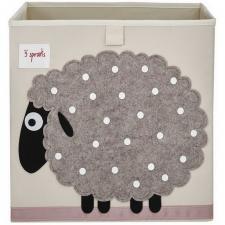 Коробка для игрушек 3sprouts овечка