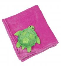 Одеяло zoocchini с игрушкой черепашка