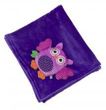 Одеяло zoocchini с игрушкой сова