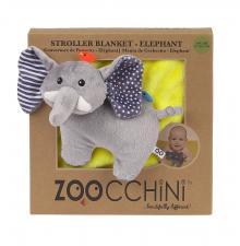 Упаковка от одеяла с игрушкой слон