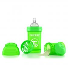 Twistshake 180 мл. зелёная