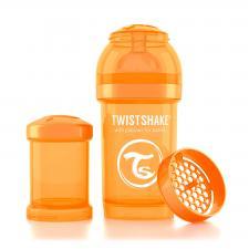 Бутылочка twistshake 180 мл. оранжевая