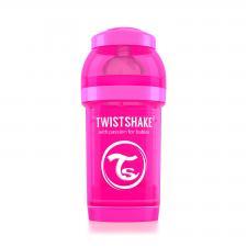 Бутылочка для кормления 180 мл. розовая