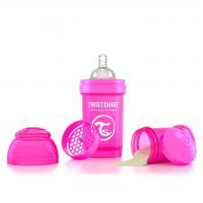 Twistshake 180 мл. розовая