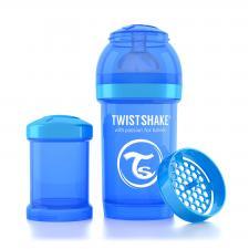 Бутылочка twistshake 180 мл. синяя