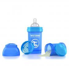 Twistshake 180 мл. синяя
