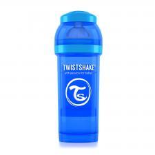 Бутылочка для кормления 260 мл. синяя