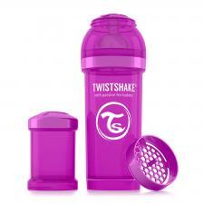 Бутылочка twistshake 260 мл. фиолетовая