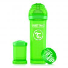 Бутылочка twistshake 330 мл. зелёная
