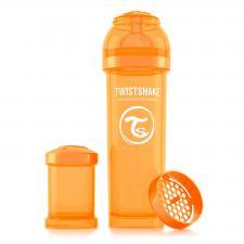 Бутылочка twistshake 330 мл. оранжевая