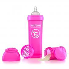 Twistshake 330 мл. розовая