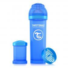 Бутылочка twistshake 330 мл. синяя