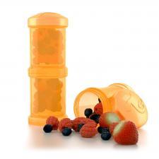 Контейнер для смеси twistshake оранжевый