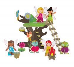 3d набор сказочное дерево без фона