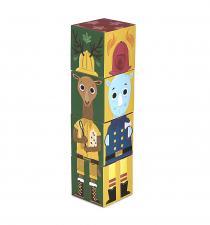 Кубики из картона krooom приключения