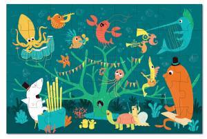 Паззл морские животные krooom