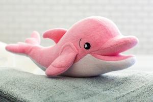 Губка soapsox дельфин ава на полотенце