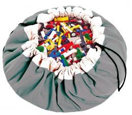 Мешок для хранения игрушек play-and-go classic серый
