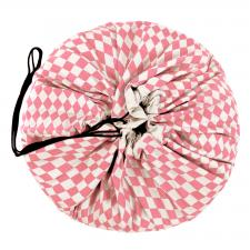 Игровой коврик play-and-go print розовый бриллиант 79957