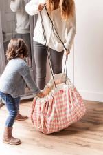 Мама убирает play-and-go print розовый бриллиант