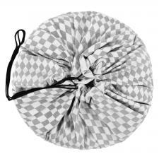 Игровой коврик play-and-go print серый бриллиант 79959