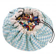 Мешок для игрушек play-and-go print синий бриллиант