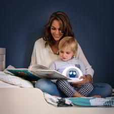 Ночник zazu сова лу синий мама с ребёнком