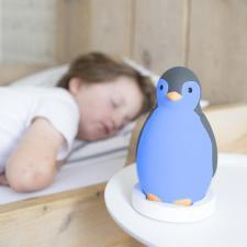 Ребёнок спит рядом с ночником zazu пэм серый