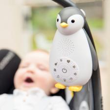 Пингвин zazu зои серый подкреплена к коляске