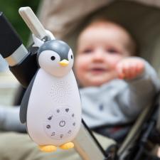 Проигрыватель zazu пингвинчик зои серый