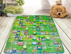 Коврик babypol забавный лабиринт 5мм на полу