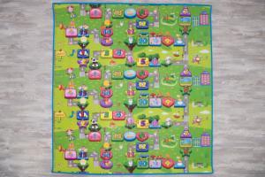 игровой коврик babypol забавный лабиринт