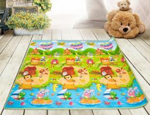 Коврик babypol забавный лабиринт 10мм на полу