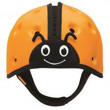 Шапка-шлем для защиты safeheadbaby оранжевая