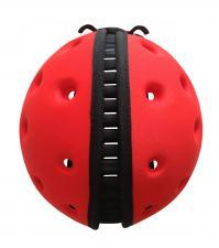 Шапка-шлем safeheadbaby красный вид сверху