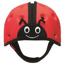 Шапка-шлем safeheadbaby  красный