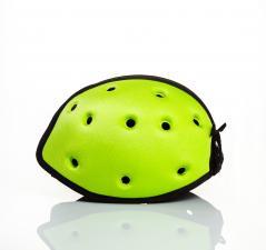 Шапка-шлем safeheadbaby зелёный вид сбоку