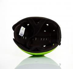Шапка-шлем safeheadbaby зелёный внутри