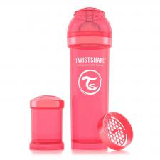 Бутылочка twistshake 330 мл. персиковая