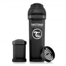 Бутылочка twistshake 330 мл. чёрная