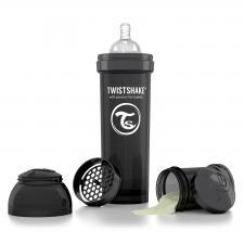 Twistshake 330 мл. чёрная