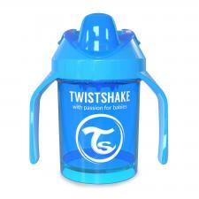 Синий поильник twistshake mini cup 230 мл.