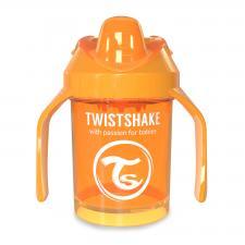 Оранжевый поильник twistshake mini cup 230 мл.