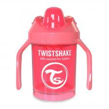Персиковый поильник twistshake mini cup 230 мл.